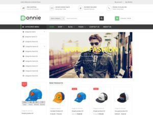 WordPress eCommerce Themes - Donnie