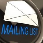 mailing list image