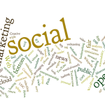 online profile word cloud