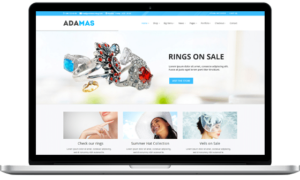 WordPress eCommerce Themes - Adamas