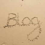 Blogging in the sand