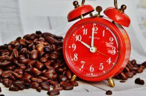 A coffee shop run on timings