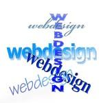 small business website word art