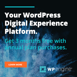 WP Engine Special Offer